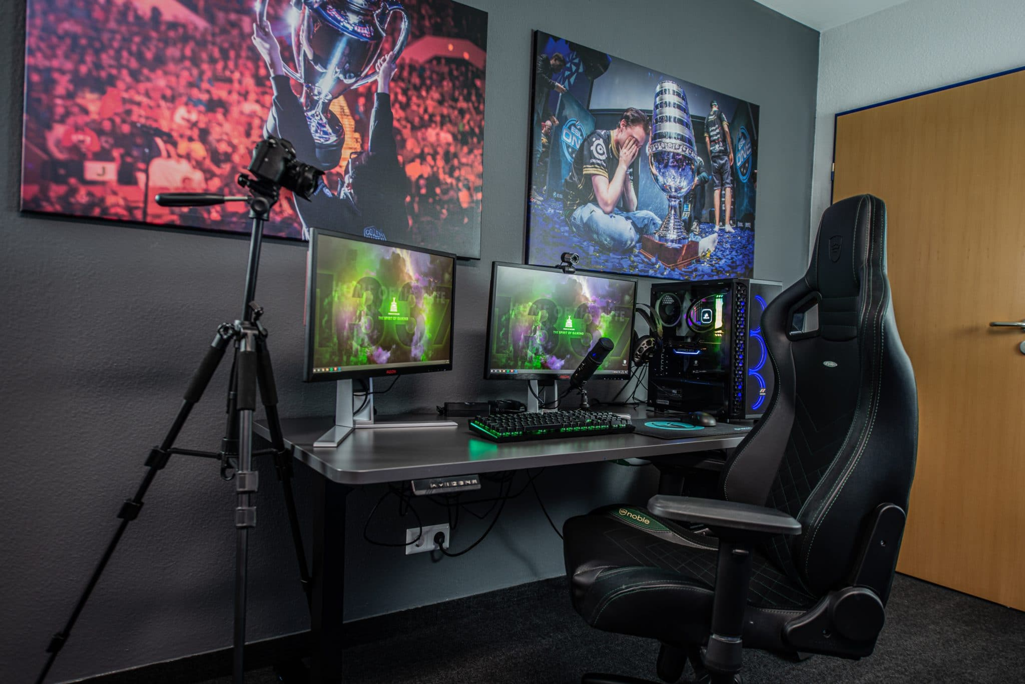 Digital marketing in gaming can permeate streamers, which means they can invest in their setup.