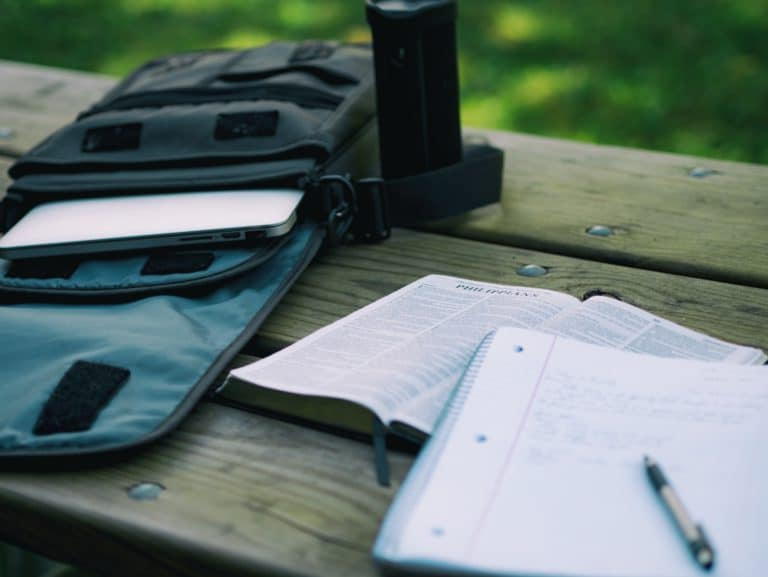 A notepad can be useful when jotting down strategy ideas